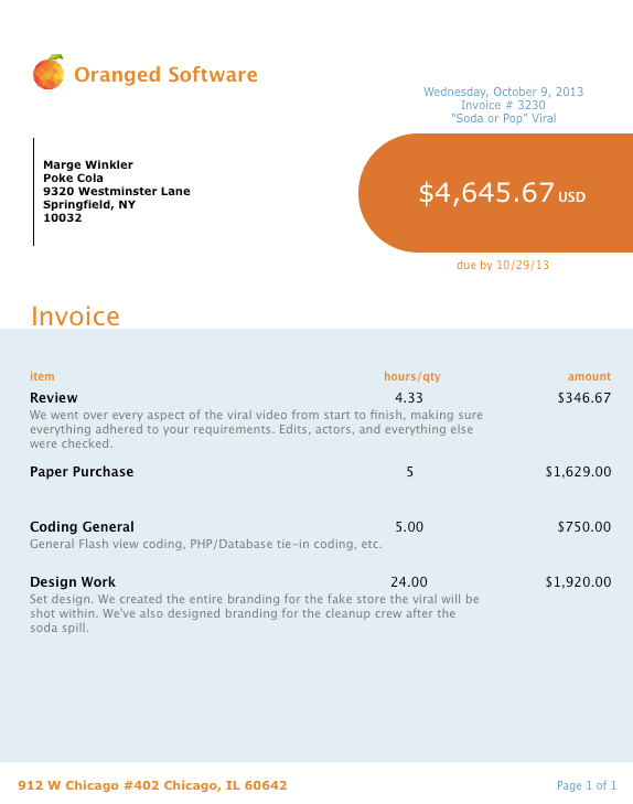 Quotes And Invoices Pdf Studiometry  Oranged Software Requirements Of A Vat Invoice Pdf with Invoice Payable To Excel Organize  Sephora Return Policy Without Receipt
